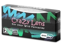 ColourVUE Crazy Lens - Orange Werewolf - journalières non correctrices (2 lentilles)