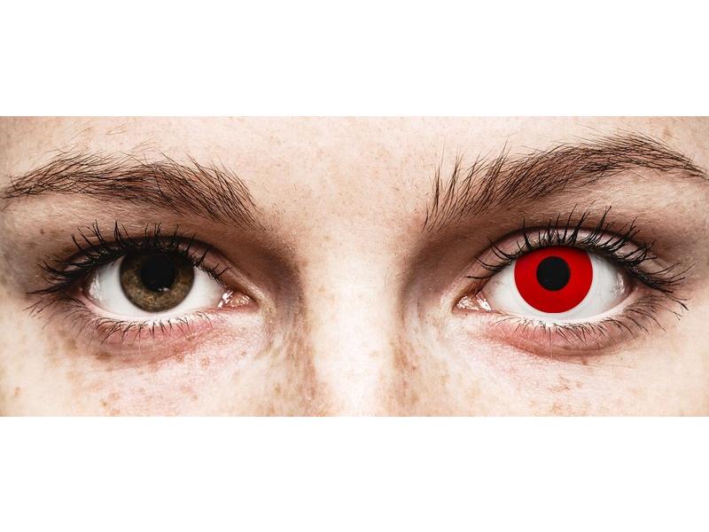 ColourVUE Crazy Lens - Red Devil - journalières non correctrices (2 lentilles)