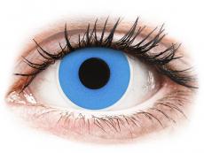 ColourVUE Crazy Lens - Sky Blue - journalières non correctrices (2 lentilles)