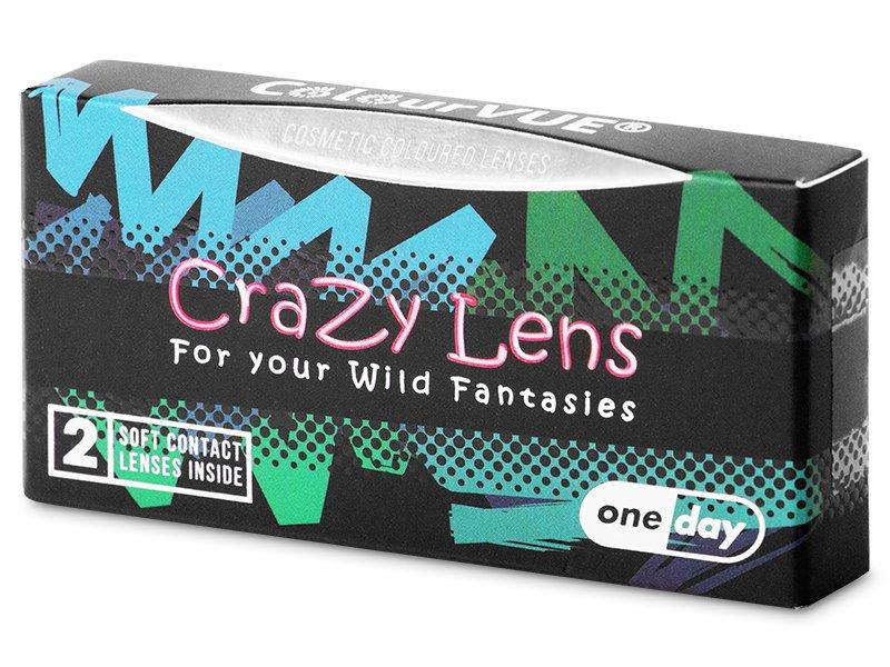 ColourVUE Crazy Lens - Twilight - journalières non correctrices (2 lentilles)