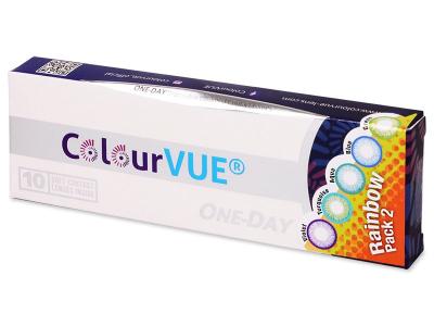 ColourVue One Day TruBlends Rainbow 2 - non correctrices (10 lentilles)