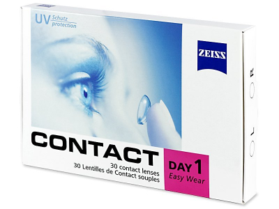 Carl Zeiss Contact Day 1 (30 lentilles)