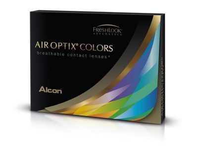 Air Optix Colors - Turquoise - correctrices (2 lentilles)