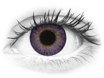 Air Optix Colors - Amethyst - correctrices (2 lentilles)