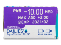 Dailies AquaComfort Plus Multifocal (30lentilles)
