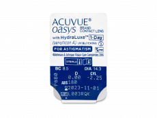Acuvue Oasys 1-Day with HydraLuxe for Astigmatism (30 lentilles)