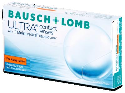 Bausch + Lomb ULTRA for Astigmatism (6 lentilles)