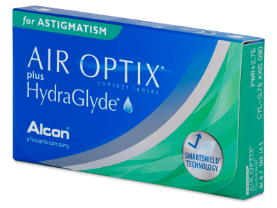 Air Optix plus HydraGlyde for Astigmatism (3 lentilles)