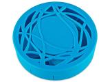 alensa.fr - Lentilles de Contact pas chères en ligne - Étui à lentilles avec miroir - Bleu Orné