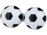 alensa.fr - Lentilles de Contact pas chères en ligne - Étui à lentilles Football - Noir