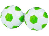 alensa.fr - Lentilles de Contact pas chères en ligne - Étui à lentilles Football - Vert
