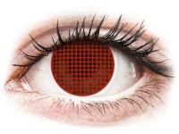 alensa.fr - Lentilles de Contact pas chères en ligne - Lentilles de contact Rouge Red Screen - ColourVue Crazy