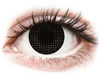 alensa.fr - Lentilles de Contact pas chères en ligne - Lentilles de contact Noir Black Screen - ColourVue Crazy