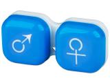 alensa.fr - Lentilles de Contact pas chères en ligne - Étui à lentilles Homme&Femme - Bleu