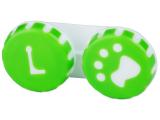 alensa.fr - Lentilles de Contact pas chères en ligne - Étui à lentilles Patte - Vert