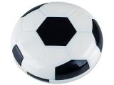 alensa.fr - Lentilles de Contact pas chères en ligne - Étui à lentilles avec miroir Football - Noir