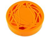 alensa.fr - Lentilles de Contact pas chères en ligne - Étui à lentilles avec miroir - Orange Orné