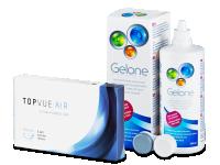 TopVue Air (6 lentilles) +Gelone360ml