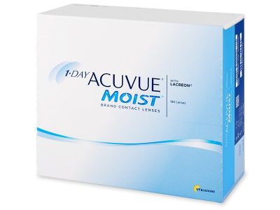 1 Day Acuvue Moist (180lentilles)