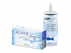 Acuvue Oasys for Astigmatism (12 lentilles) + Laim-Care 400 ml
