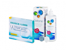 Bausch + Lomb ULTRA for Presbyopia (3 lentilles) + Gelone 360 ml