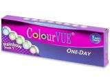 alensa.fr - Lentilles de Contact pas chères en ligne - ColourVue One Day TruBlends Rainbow