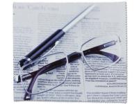 Chiffon nettoyant pour lunettes - Journal