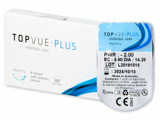 TopVue Monthly Plus (1 lentille)