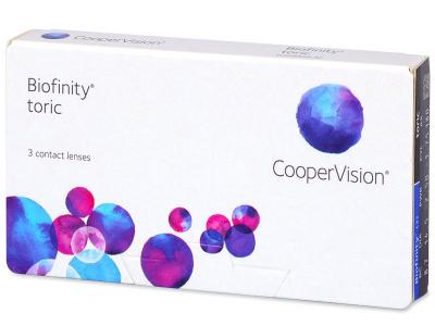 Biofinity Toric (3lentilles)