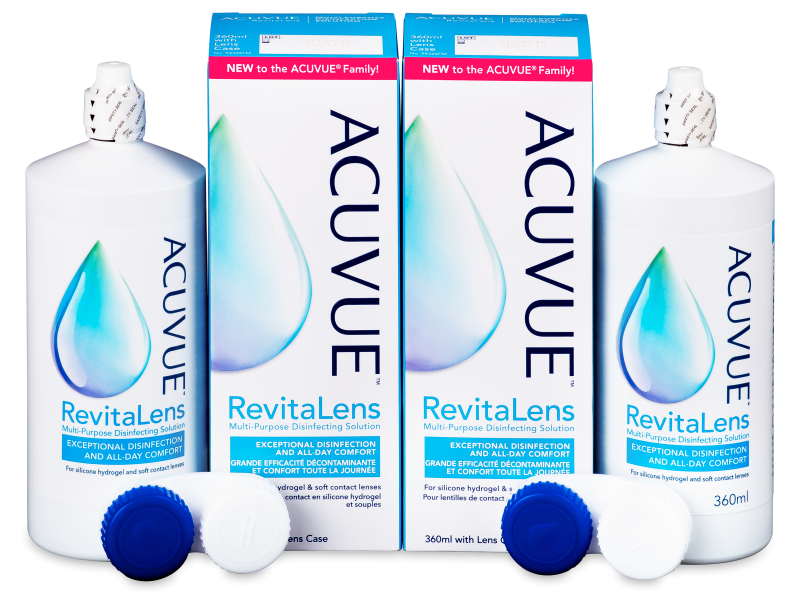 Solution Acuvue RevitaLens 2 x 360 ml