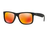 alensa.fr - Lentilles de Contact pas chères en ligne - Lunettes de soleil Ray-Ban Justin RB4165 - 622/6Q
