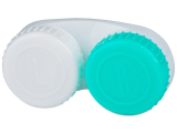 alensa.fr - Lentilles de Contact pas chères en ligne - Étui à lentilles L/R - Vert & Blanc