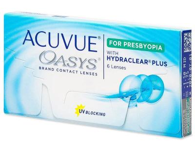 Acuvue Oasys for Presbyopia (6 lentilles)