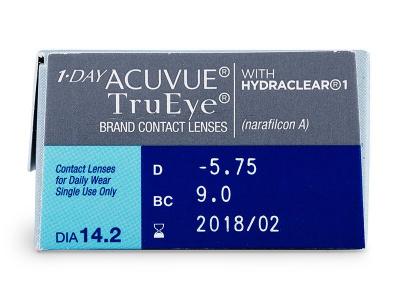 1 Day Acuvue TruEye (30lentilles)