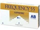 alensa.fr - Lentilles de Contact pas chères en ligne - Frequency 55 Aspheric