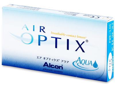 Air Optix Aqua (6lentilles)