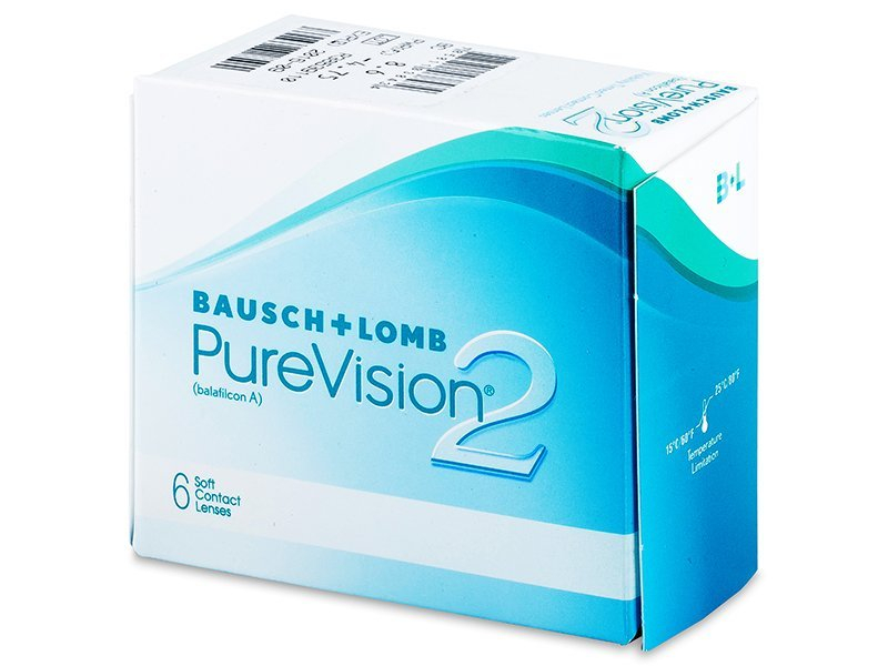Lentilles de Contact PureVision 2 (6 lentilles) – 23.59 €   Alensa ddb280a74901