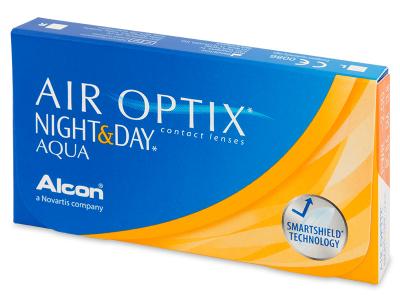 Air Optix Night and Day Aqua (6lentilles)