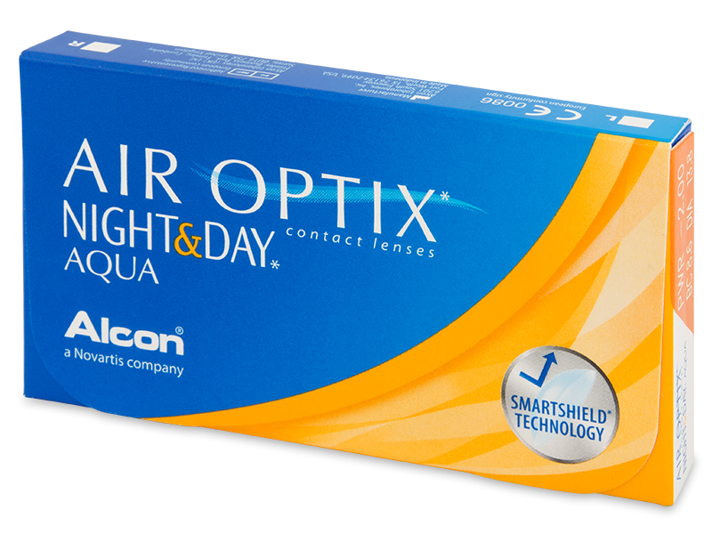 Air Optix Night and Day Aqua (6 lentilles)
